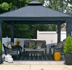 Gazebo Roof Design Ideas