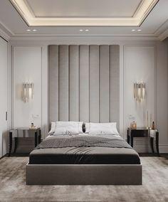 Modern Luxury Bedroom, Luxury Bedroom Design, Master Bedroom Interior, Bedroom Furniture Design, Home Room Design, Master Bedroom Design, Luxurious Bedrooms, Home Decor Bedroom, Modern Classic Bedroom