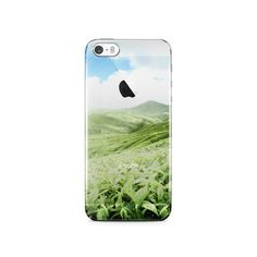 Greenery IPhone 5S Clear Case