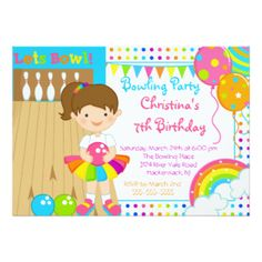 Bowling Party Invitations, 1,600+ Bowling Party Announcements & Invites