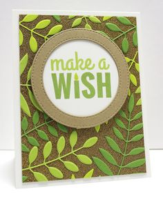 Bold Greenery Die-namics, Circle STAX Set 1 Die-namics, Stitched Circle Frames Die-namics, Birthday Sentiments - Jody Morrow  #mftstamps
