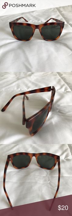 Cole Haan Tortoise Shell Sunglasses Worn a few times. In great condition. Reasonable offers welcome! Cole Haan Accessories Sunglasses