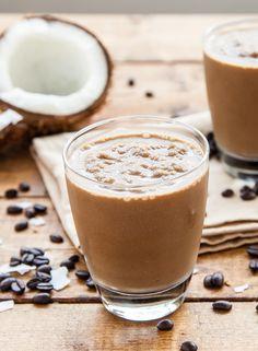 Coconut Latte Smoothie #bestsmoothie #vegasmoothie