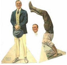 Douglas Fairbanks Sr paper doll / eBay