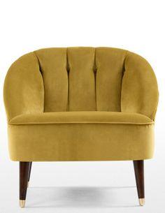 Du hast nicht viel Platz daheim? Kein Problem, der Margot Sessel ist ideal für kompakte Räume.