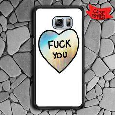 Hologram Quotes Heart Samsung Galaxy S7 Edge Black Case