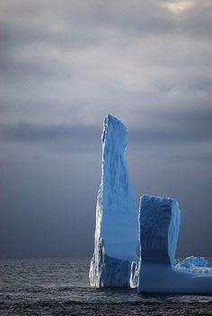 Antarctic iceberg. Photo by (the very appropriately named) Irene Berg.
