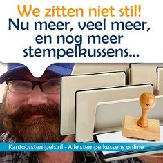 Stempelkussens, alle stempelkussens online kopen bij Kantoorstempels.nl. Met inkt of zonder stempelinkt.