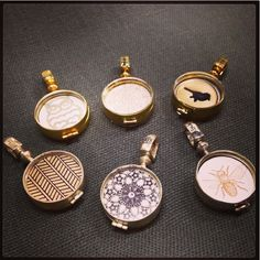 Journey Lockets - Gold Insert Collection, $5.00 (http://www.shopjourneylockets.com/gold-collection/)