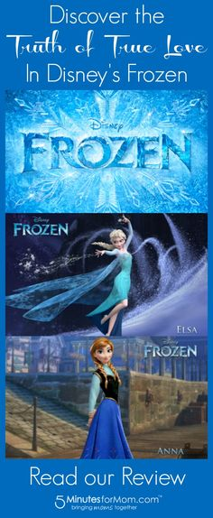 Discover the Truth of True Love - Disney Frozen Movie Review