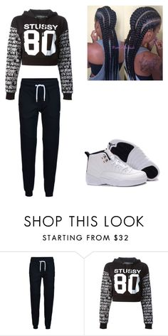 """""""Coolin & Boolin"""" by lexiswagg on Polyvore featuring ONLY, Stussy, Retrò and Sessions"""