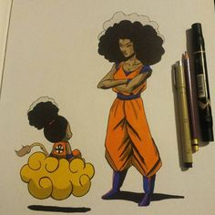 "Markus "" is an iconic artist on the soulful scene. His images of empowered women of color have been circling various social media sites for years, sometimes unacknowledged . Black Cartoon Characters, Black Girl Cartoon, Cartoon Art, Black Love Art, Black Girl Art, Art Girl, Arte Black, Natural Hair Art, Black Art Pictures"