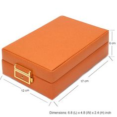 Leather Jewerly Box Travel Case