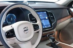 New Volvo XC90 interior has well considered materials. #Feb2015