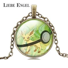 Find More Pendant Necklaces Information about LIEBE ENGEL HOT Harajuku Pokemon Go Leafeon Pendant Necklace Pokeball Glass Cabochon Long Chain Necklace Women Fine Jewelry 2016,High Quality necklace pen,China necklace orange Suppliers, Cheap jewelry necklace pendant from LIEBE ENGEL Official Store on Aliexpress.com
