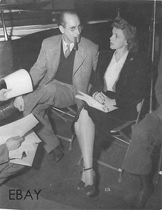 Groucho Marx & Judy Garland