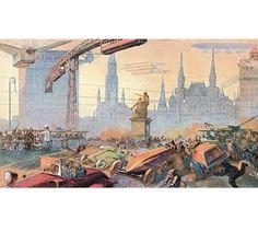 Steampunk-Postkarten die zweite