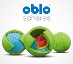 Oblo is an award-winning 3D spherical puzzle that challenges and inspires kids of all ages. Oblo is also an engaging, didactic puzzle ideal for growing minds.  Ages 4+. Designed in Croatia. Made in Canada.