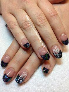 Nails Mylar Nails, Nail Designs, Nail Polish, Make Up, Nail Art, Glitter, Crystals, My Style, Fingers