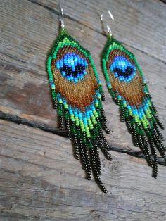 beaded earrings to make Seed Bead Jewelry, Seed Bead Earrings, Seed Bead Bracelets, Fringe Earrings, Feather Earrings, Seed Beads, Beaded Jewelry, Boho Earrings, Diy Jewelry