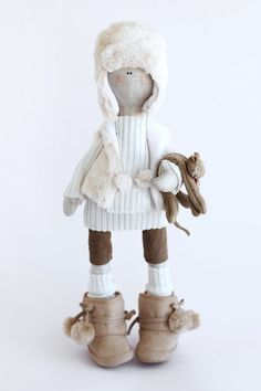 Hand made doll, this is just the coolest ever!!