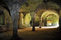 part of the catacombs ~ Le réfectoire des rfrères convers de l'abbaye de Clairmont - Mayenne by Philippe_28 on Flickr.