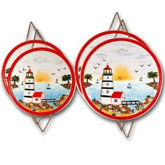 Light House, Burner Covers , 4 Pieces by K.K. Merchandise, Inc.. $33.99. Light House, 4 Pieces Burner Cover Set, Includes: 2 Pieces 10-1/2 and 2 Pieces 8-1/2 Inch. Can Also Be Used As Wall  Plaques