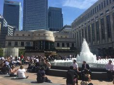 One fine day on Canary Wharf #tgif by katuutie