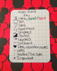 PlannerPeople: Bullet Journaling Adapted to my Filofax