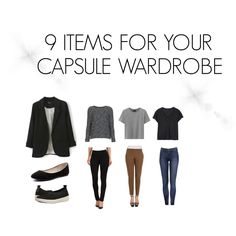 9 Items for Your Capsule Wardrobe - SaveSaveSave