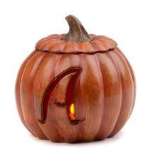 Pre-Lit Monogram A Pumpkin Item #: 117206 $16.99 All letters available...Kirkland's