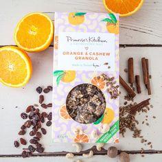 ☀️Buenos días y feliz inicio de semana. Hoy toca desayunar una rica #granola de naranja y #anarcardos, #orgánica, #vegana, #singluten y procesada a baja temperatura para asegurar todos sus nutrientes ¡de lujo!  • • Encuéntrala en👉🏼www.dellaterra.es