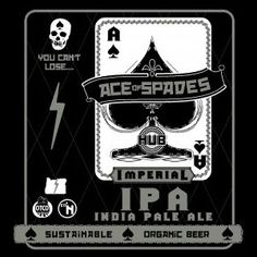 Hopworks Urban Brewery HUB, OR Ace Of Spades Imperial IPA