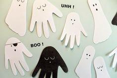 BOO ! og UHH ! nogle søde Halloween Spøgelser Diy And Crafts, Crafts For Kids, Fancy Dress For Kids, Halloween 2015, Christmas, Handmade, Inspiration, Barn, Thanksgiving