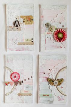 collage cards | annabelle o malley