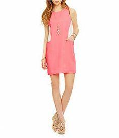 Coral dress summer