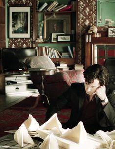 Wedding planner Sherlock is the best kinda Sherlock. Any Benedict-involved Sherlock is honestly the best kinda Sherlock Sherlock Holmes, Benedict Sherlock, Sherlock Fandom, Benedict Cumberbatch Sherlock, Sherlock John, Moriarty, Sherlock Bored, Sherlock Series, Martin Freeman