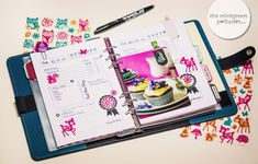 Filofax Planner Deco Ideas & Inspirations and free Downloads / Printable Planner Pages - The Mintgreen Polkadot