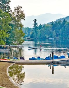 Two lakes, 46 Adirondack peaks and Lake Placid's Olympic facilities are your playground.