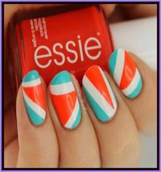 New Stylish Party Nail Designs For Women/Girls 2013 ~ SaeedBaBa.com