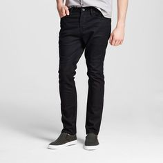 Men's Slim Fit Jeans Black 32x32 - Mossimo Supply Co.