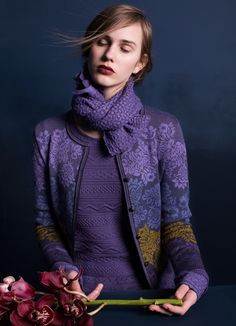 OLEANA Norway - The knitwear is high quality and a good alternative to classic costume jackets. Perfect for the Dirndl.