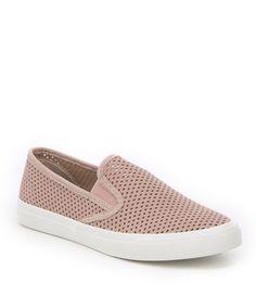 a5289b654ee Sperry Women s Seaside Perforated Slip On Sneakers