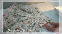 Artesanato Como fazer VESTIDO de BONECA de PANO - DIY Handmade ropa muñeca
