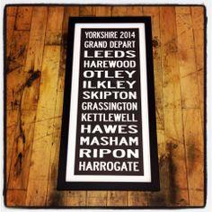 Tour de France 2014, Grand Depart Yorkshire, Tour de Yorkshire framed print