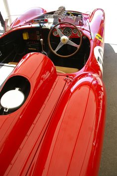 """pinterest.com/fra411 #ferrari - 1957 Ferrari Testa Rossa 250 TR """"Prototipo"""""""