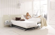 Swissflex Ambiente | The attractively shaped Swissflex headboard in two models provides a perfect finish.