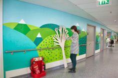 Leaves and Twigs: Donna Wilson + Vital Arts + Royal London Hospital