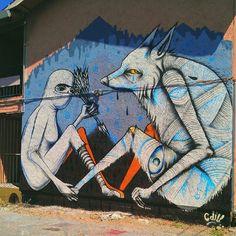 cannon dill art   ... and Cannon Dill. Solano Alley, Oakland, Ca. Graffiti / Street Art