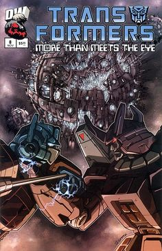 Dreamwave+Comics+Official+Site   More Than Meets The Eye Official Guide #8 - click to see a larger scan